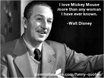 A quote about women by Walt Disney