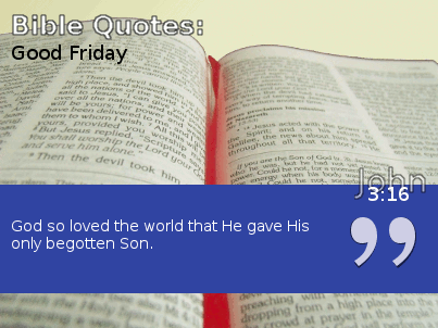 John 3:16 Quote from Bible